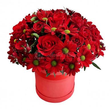 """Цветы в коробке """"Самой самой"""""""